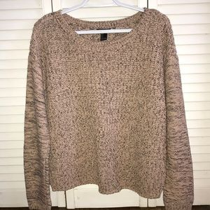 Pink and Black Forever 21 Sweater